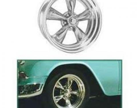 Chevy Torq-Thrust II Wheel, 17 x 8, American Racing