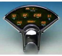 Chevy Dakota Digital Dash Kit, Amber, 1955-1956