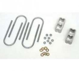 Chevy Rear Spacer Lowering Kit, 2, 1955-1957