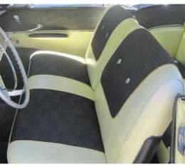 Chevy Seat Cover, Front, 2-Door Hardtop, Bel Air, 1957
