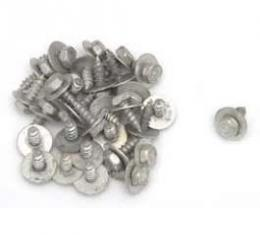 Chevy Front End Sheet Metal Screws, Cadmium Plated, 1, 4, 1955-1957