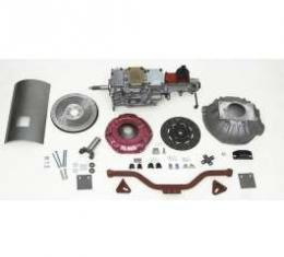 Chevy Tremec 5-Speed Transmission Kit, With Aluminum Flywheel, For Externally Balanced Engines, TKO 600, Non-Convertible, 1955-1957