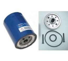 Chevy Oil Filter Adapter Kit, Spin-On, 1956-1957