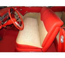 Chevy Seat Cover Set, 2-Door Hardtop, Bel Air, 1955