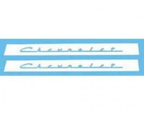 Chevy Valve Cover Stencils, 1955-1957