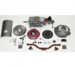 Chevy Tremec 5-Speed Transmission Kit, With Steel Flywheel, For Internally Balanced Engines, TKO 600, Non-Convertible, 1955-1957