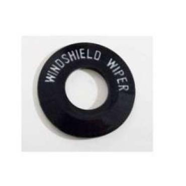 Chevy Windshield Wiper Bezel Insert, Plastic, Bel Air, 1955-1956