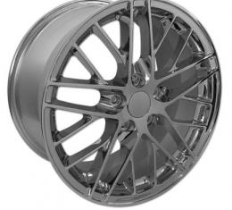 "Corvette Wheel, C6 ZR1, Chrome, GM, 19"" x 10"", 2005-2013"