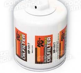 Corvette Oil Filter LS2/LS7, K&N, 2006-2013