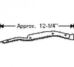 Chevy Weatherstripping, Door Hinge Pillar Auxiliary Beltline, Except 2-Door Coupe & Convertible Styline, 1949-1952