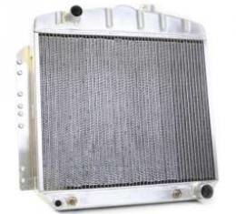 Chevy Aluminum Radiator, Automatic Transmission, Top Left Outlet, LT1 Engine, Griffin Pro Series, 1949-1954