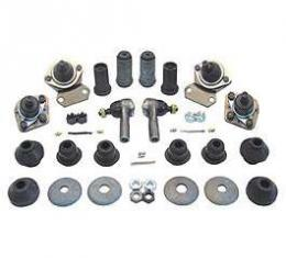 Chevy Front Suspension Rebuild Kit, With Polyurethane Bushings, Mustang II, 1949-1954