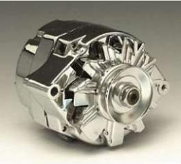 Chevy Alternator, 70 Amp, 3-Wire, Chrome, 1949-1954