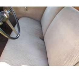 Chevy Front Seat Cover, Business Coupe, Gray,1949