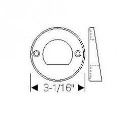 Chevy Mounting Gaskets, Back-Up Light Housing To Quarter Panel, 1949-1952