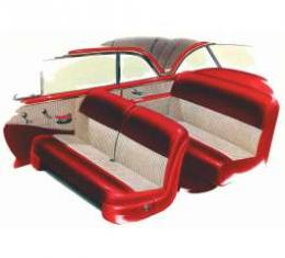 Chevy Seat Covers, Bel Air, Hardtop, 1951-1952