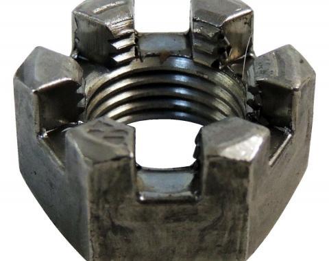 Corvette Tie Rod Castle Nut, 1953-1982