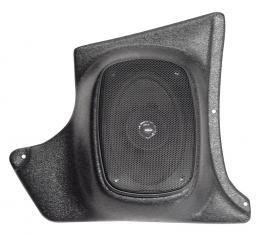 Custom Autosound Corvette Kick Panels with 80 Watt Speakers, 1963-1967