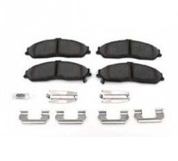 Corvette Disc Brake Pads, Front, Dura Stop Ceramic Friction, AC Delco, 1997-2013