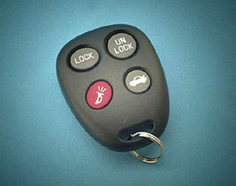 Corvette Remote Keyless Transmitter, 2000