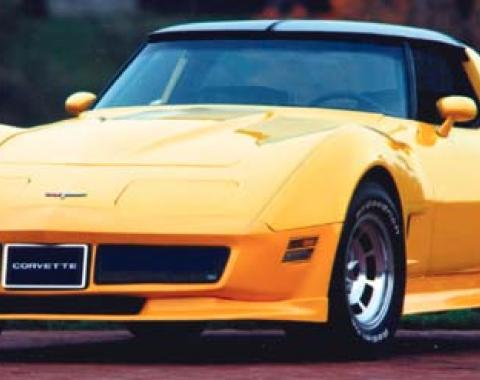 Corvette Side Skirts, LT, ACI, 1970-1982
