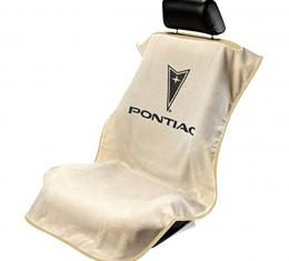 Seat Armour Pontiac, Seat Towel, Tan with Logo SA100PTCTE
