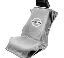 Seat Armour Nissan, Seat Towel, Grey with Logo SA100NISSG