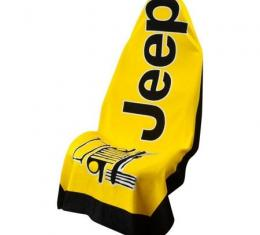 Seat Armour, Universal Towel2Go Jeep, Yellow T2G100Y
