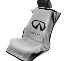 Seat Armour Infiniti Seat Towel, Grey with Logo SA100INFG