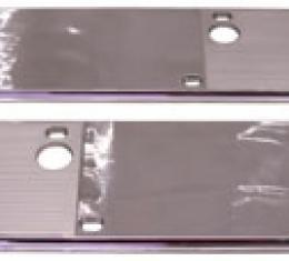 Chevelle Armrest Plates, Chrome, 1968