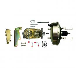 """Right Stuff Upper Assembly with Gold Booster, 1.125"""" Bore, Valve and Brackets G94020971"""