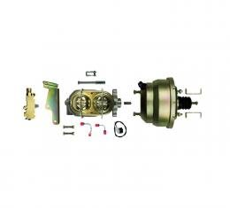 """Right Stuff Upper Assembly with Gold Booster, 1.125"""" Bore, Valve, Lines and Brackets G84310971"""