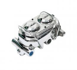 Right Stuff Master Cylinder, Cast Iron, Chrome, Short Pocket, Chevy/GMC, Each DBMC02C