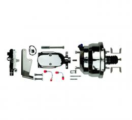 """Right Stuff Upper Assembly with Chrome Booster, 1.125"""" Bore, Valve and Lines J82315171"""