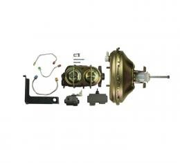Right Stuff Upper Assembly with Booster, Bore, Brake Valve and Brackets FDC001