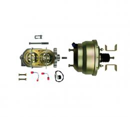 """Right Stuff Upper Assembly with Gold Booster, 1"""" Bore, Valve, Lines and Brackets G823105"""