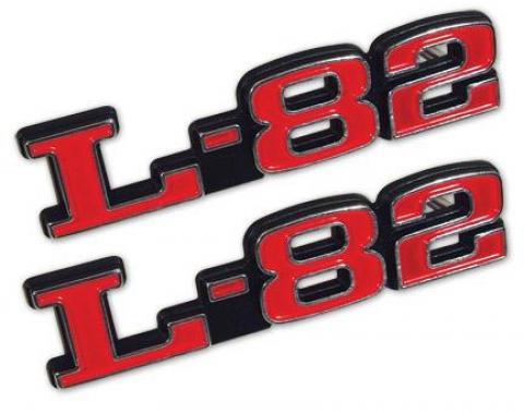 Corvette Emblems, Hood L-82, 1973-1979