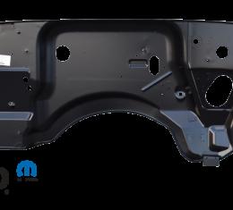 Key Parts '87-'89 Jeep Wrangler Firewall 0480-215