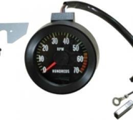 Chevelle Tachometer, 6000 RPM Redline, 1967