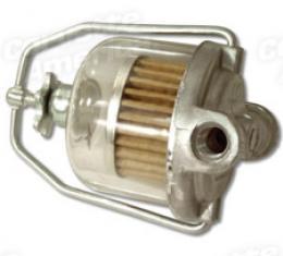 Corvette Fuel Filter, GF-48 Glass Bowl Filter, 1953-1962