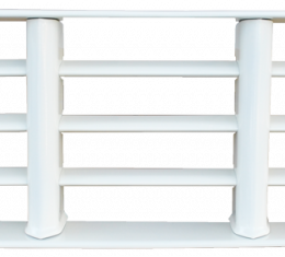 Key Parts '55-'56 Chevrolet Pickup Painted Grille 0847-045