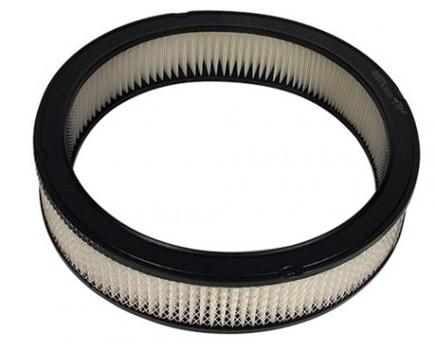 "Universal Round Air Cleaner Replacement Filter, Paper, 14"" x 2"""