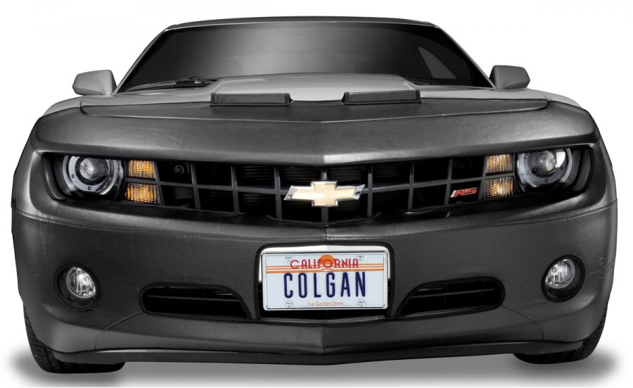 Vinyl Black Colgan Custom Fit Original Front End Mask for Select Honda Accord Models
