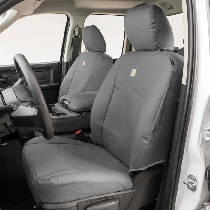Duck Weave Gravel Carhartt SeatSaver Front Row Custom Fit Seat Cover for Select Cadillac//Chevrolet//GMC Models