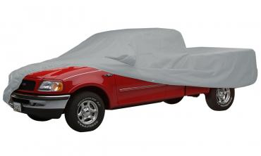Covercraft 1969-1970 Ford Mustang Custom Fit Car Covers, Polycotton Gray C10842PD
