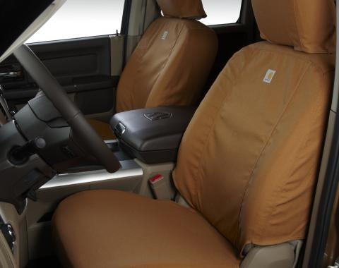 Covercraft 2016-2019 Toyota Tacoma Carhartt SeatSaver Custom Seat Cover, Brown SSC2509CABN