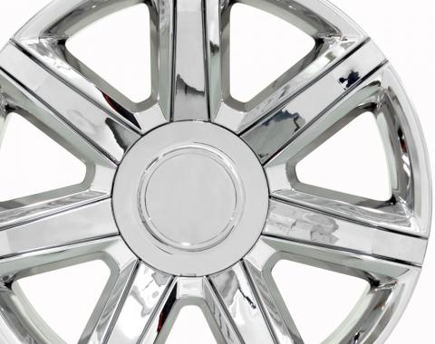 """24"""" Fits Cadillac - Escalade Wheel - PVD Chrome with Chrome Insert 24x10"""