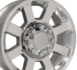 """20"""" Fits Ford - F250-F350 Wheel Replica - Polished 20x8"""