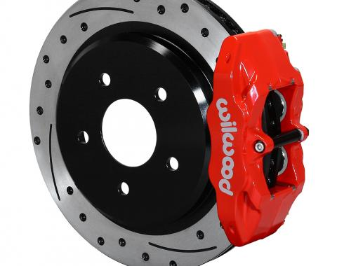 Wilwood Brakes 1997-2013 Chevrolet Corvette DPC56 Rear Replacement Caliper and Rotor Kit 140-15176-DR