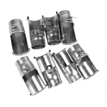 Corvette Spark Plug Shields, Big Block 8 Piece Set, 1965-1966